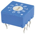 10Way Flat Real Rotary Switch