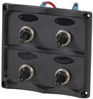 4 Gang Switch Panel with LED indicators