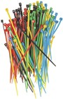 100mm Coloured Cable Ties - Pk.125