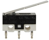 SPDT 125V 3A Sub-Miniature Micro Switch with Lever