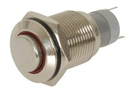 IP67 Rated Iluminated Pushbutton Switch Red