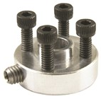 Aluminium Hub with Set Screws