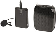 Portable Wireless UHF Lapel Microphone System