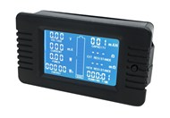 200A 6.5-200V DC Power Battery Meter with External Shunt