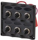 6-Way Switch Panel with LED Indicators