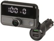 FM Transmitter with Bluetooth® Technology and Qualcomm® Quick Charge™ 3.0 USB
