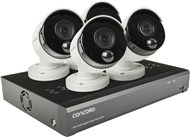 Concord 8 Channel 4K DVR Package - 4x5MP Cameras