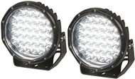 6000 Lumen 7 Inch Solid LED Driving Light, Sold as Pair