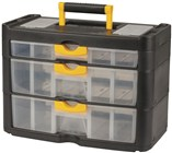 Portable Storage Box with 3 Drawers