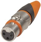 Waterproof IP67 XLR Line Socket