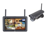 "2.4GHz Wireless 720p Surveillance Kit with 7"" LCD & 720p Wireless Camera"